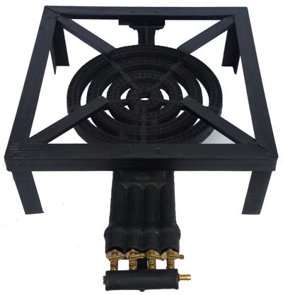 Plinski gorionik sa 4 ventila liveni