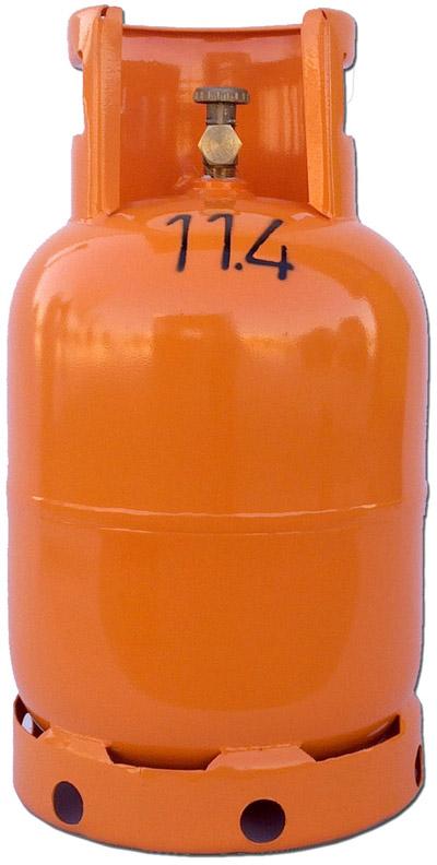 Plinska boca sa sondom za viljuškare