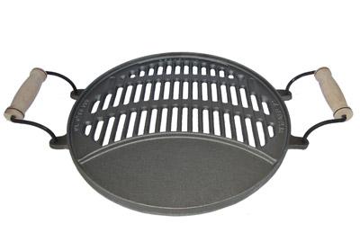 Livena roštilj ploča šuplja 37x52 cm
