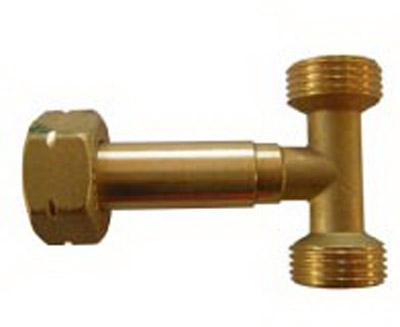 T razdelnik za plinske boce sa dva regulatora