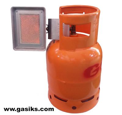 plinska grejalica radi na bocu od 5 i 10 kg