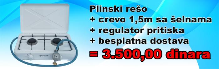 AKCIJA Plibnski rešo sa vda gorionika plus crevo i regulator i besplatna dostava