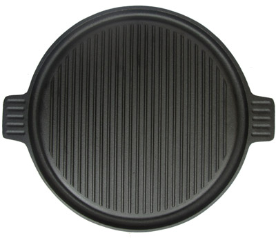 Roštilj ploča okrugla livena Fi36