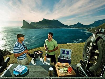 Plinski roštilj za kampovanje
